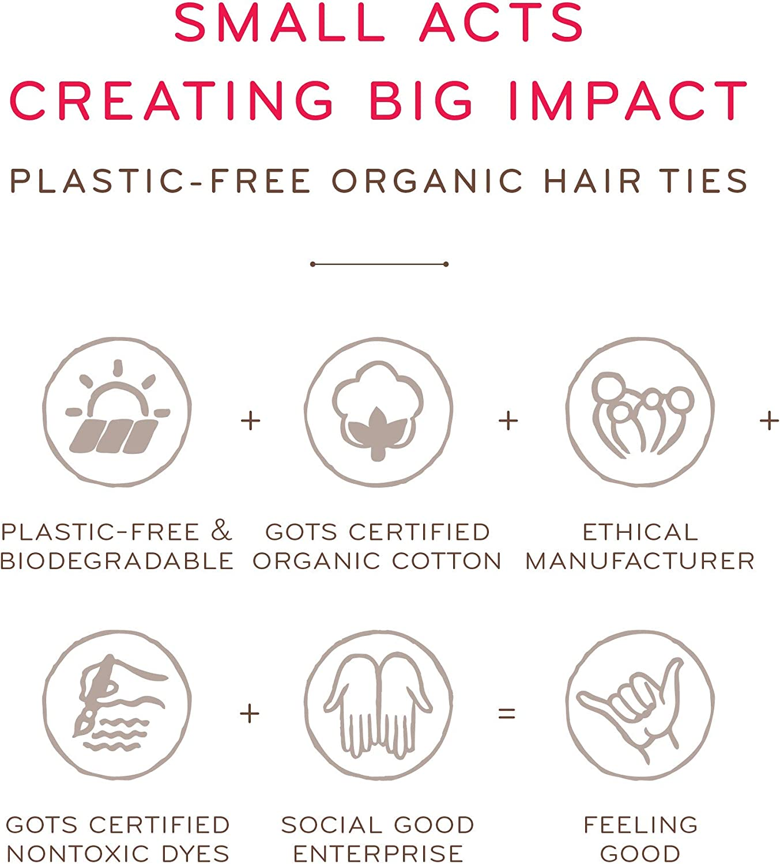 KOOSHOOKoshoo - Gomas para el pelo biométricos biodegradables para ...