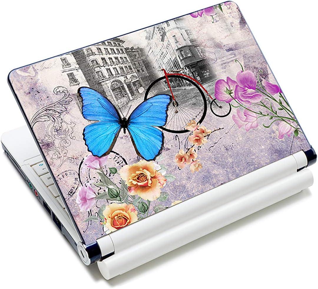 Film autocollant pour ordinateur portable 13-14 Zoll Papillon dor/é LP32.