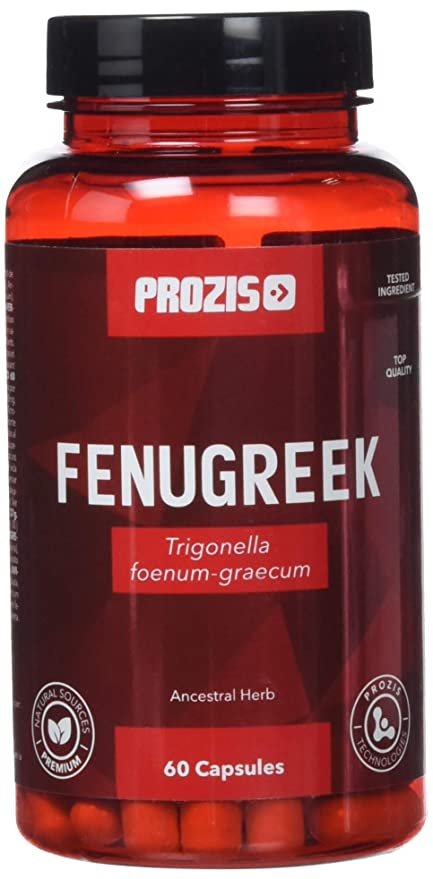 Prozis Fenugreek Seed Extract, Complemento para Estimular los Niveles de Testosterona y Libido - 30