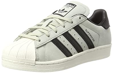 adidas Superstar Fashion, Baskets Mixte Enfant, Ivoire Chalk White, 35.5 EU