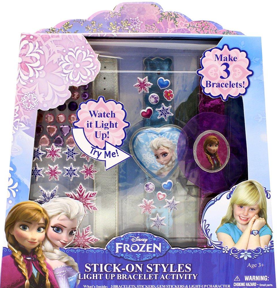 Disney Frozen Tara Toy Frozen Stick-On Style Light Up Bracelet Playset Tara Toy Use this Code 81666