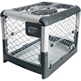 Diggs Revol Small Dog Crate - Portable Travel Dog Crate with Collapsible Kennel Walls