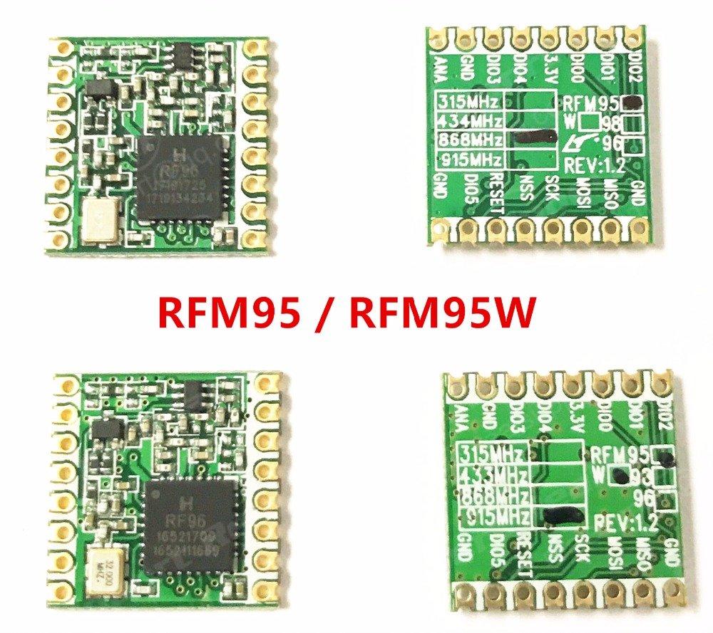 RFM95W RFM95 868 MHz SX1276 Lora módulo transceptor inalámbrico: Amazon.es: Electrónica