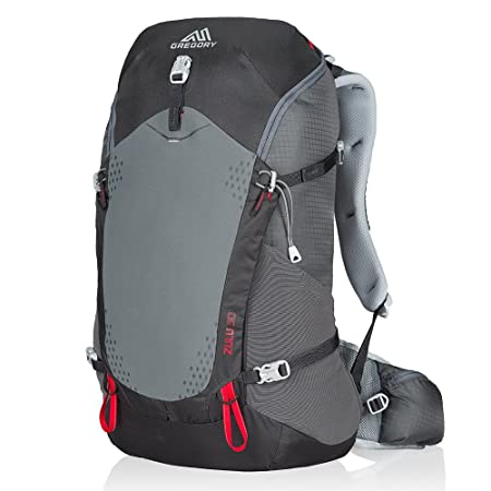 Gregory Mountain Products Zulu 30 Liter Men s Day Hiking Backpack Day Hikes, Camping, Travel Ventilated Suspension, Rain Cover Included, Hydration Compatible Breathable Comfort on The Trail