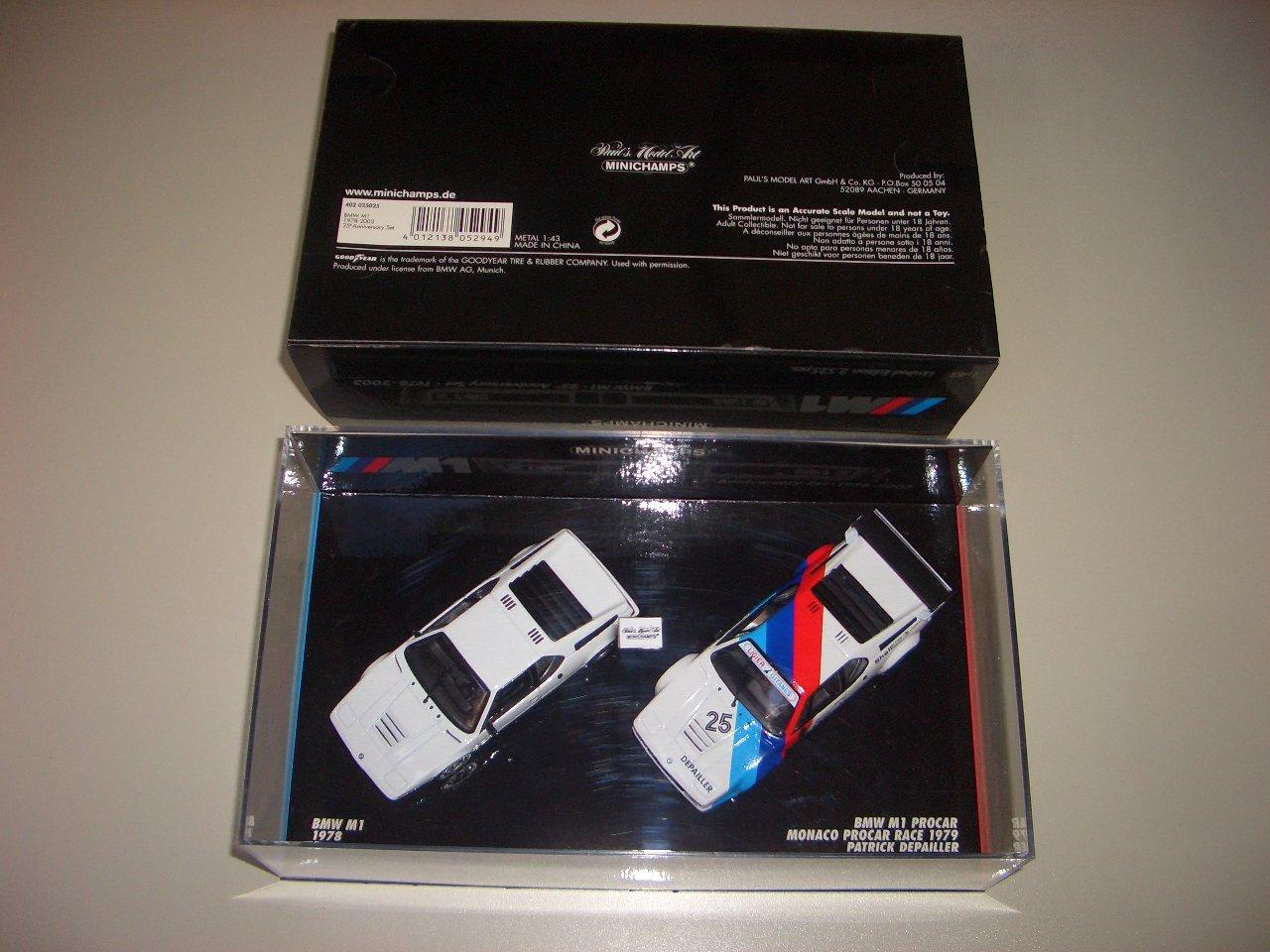 Minichamps 402025025 - M1 BMW M1 - Set ee50ba