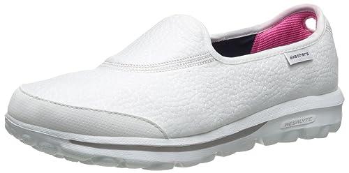18d46167cee Skechers 13767 - Tobillo bajo de Sintético Mujer, Color Blanco, Talla 35  EU: Amazon.es: Zapatos y complementos
