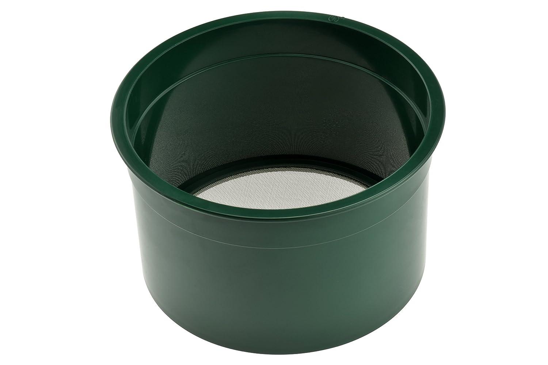 SE GP4-30 6-Inch Green Mini Sifting Pan, 30 Holes Per Square Inch