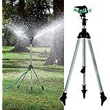 Kungfu Mall 1/2 Inch Garden Lawn Plant Watering Telescopic Tripod Sprinkler Irrigation Kits