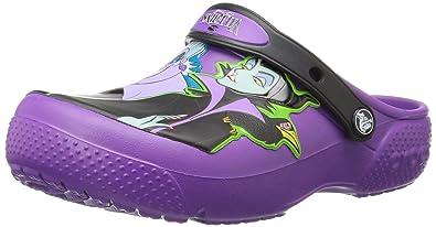 d5e4c61382af Crocs Kids Baby Girl s Fun Lab Disney Villain Clog (Toddler Little Kid)  Amethyst