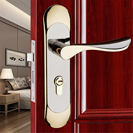 GaoHX LOCK~ Modernos Minimalistas Interiores De Las Puertas Cerraduras Cerraduras De Manija De La Puerta