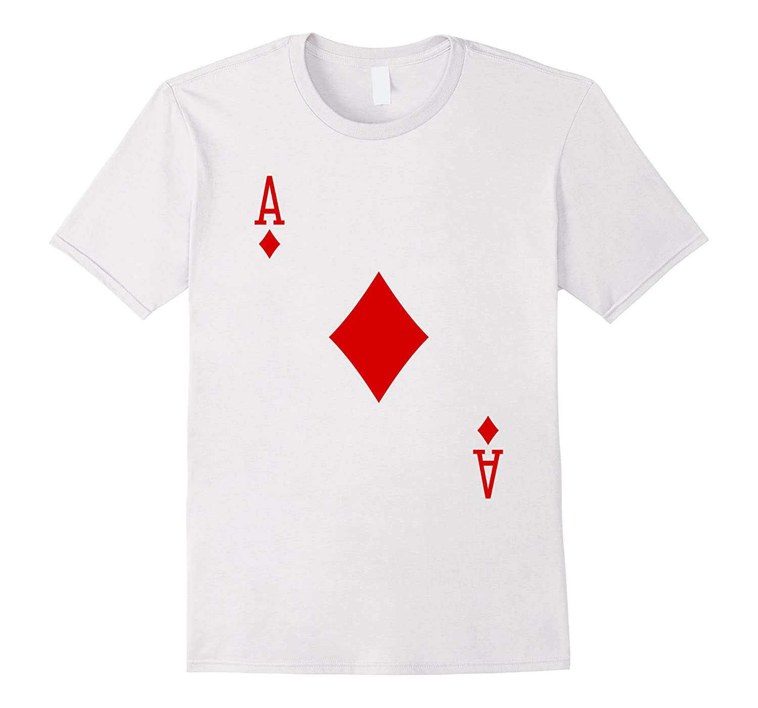 Ace of Diamonds T-Shirt Playing Card-ANZ
