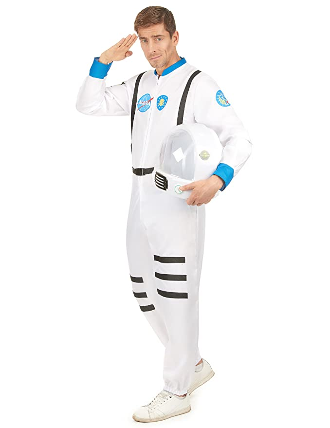 Disfraz astronauta hombre - M: Amazon.es: Juguetes y juegos