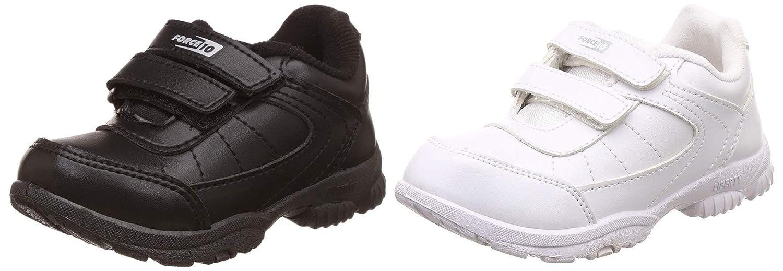Unisex Black School Shoes Combo (Black