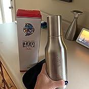 Amazon.com: My Chilly Willy - Botella de cerveza de acero ...