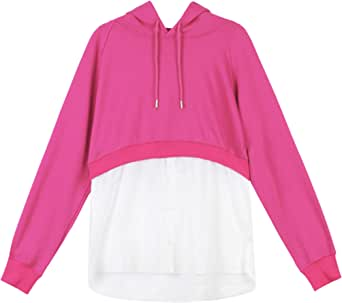 Multi color Round Neck Hoodies For Women