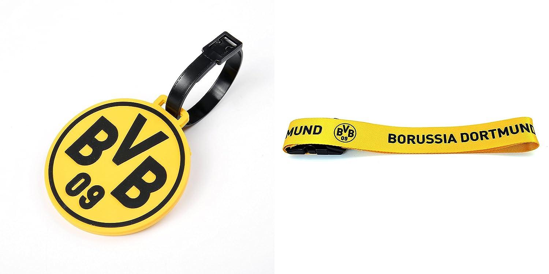 BVB09 Borussia Dortmund Gep/äckband Kofferband Gep/äckgurt Kofferriemen Koffergurt Fanartikel