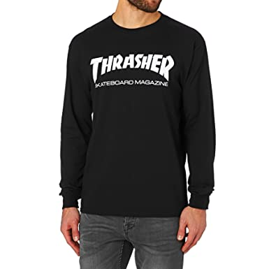 ddd3cc8c4515 Amazon.com  Thrasher Skate Mag Long Sleeve T-Shirt  Clothing