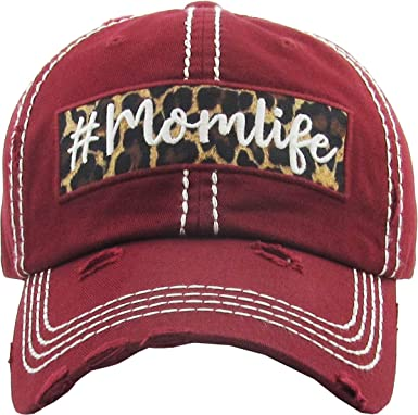 Hunter For Life Vintage Distressed Adjustable Camo Cotton Baseball Cap Dad Hat