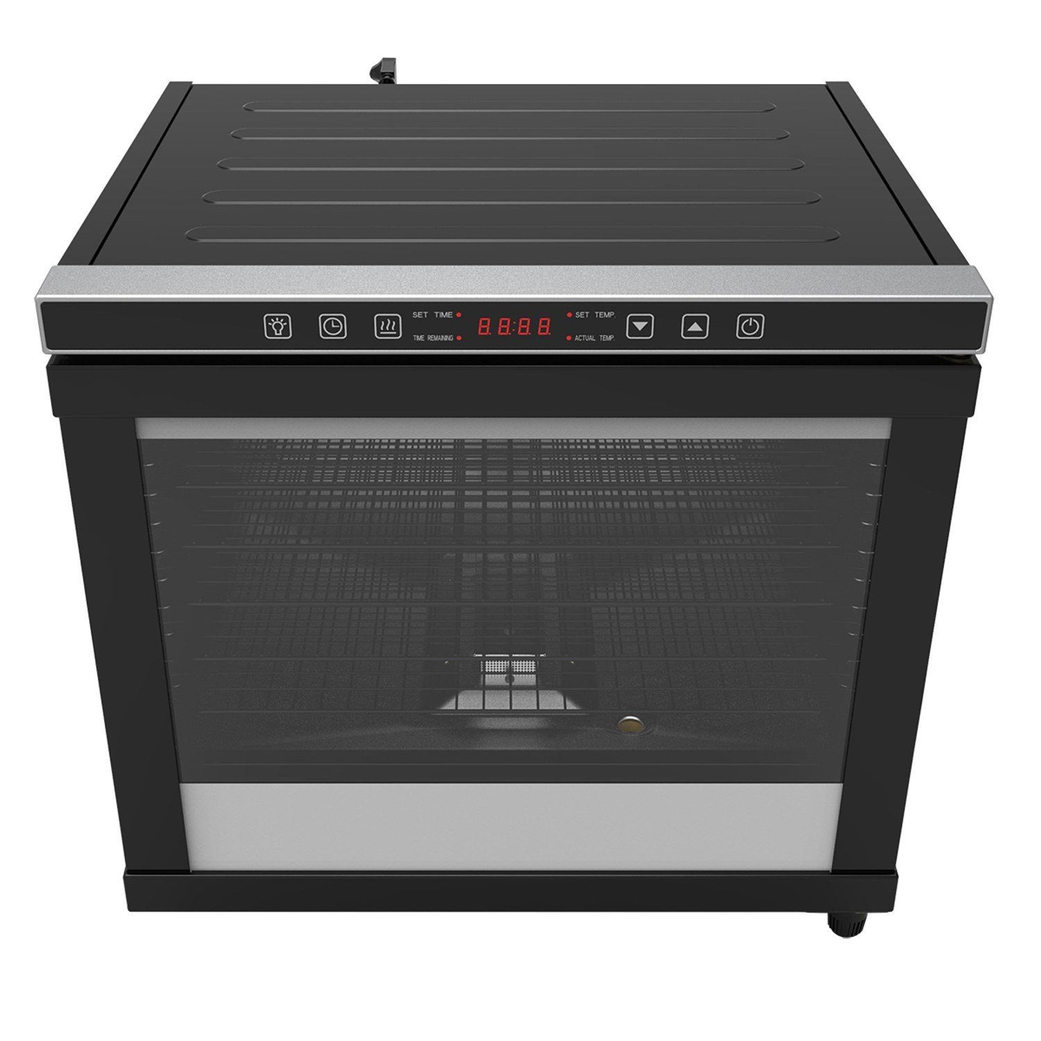 CHARD CD-80C, Pro Power Dehydrator, Black, 80 liter, 12 rack, 1700 watts