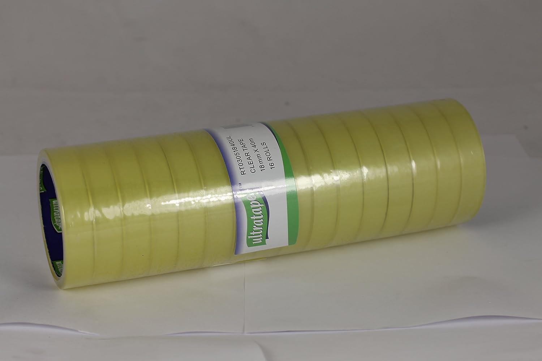 Ultratape 6 Rolls Sellotape Clear Tape 24mm x 40m New Genuine 6 Roll Tower