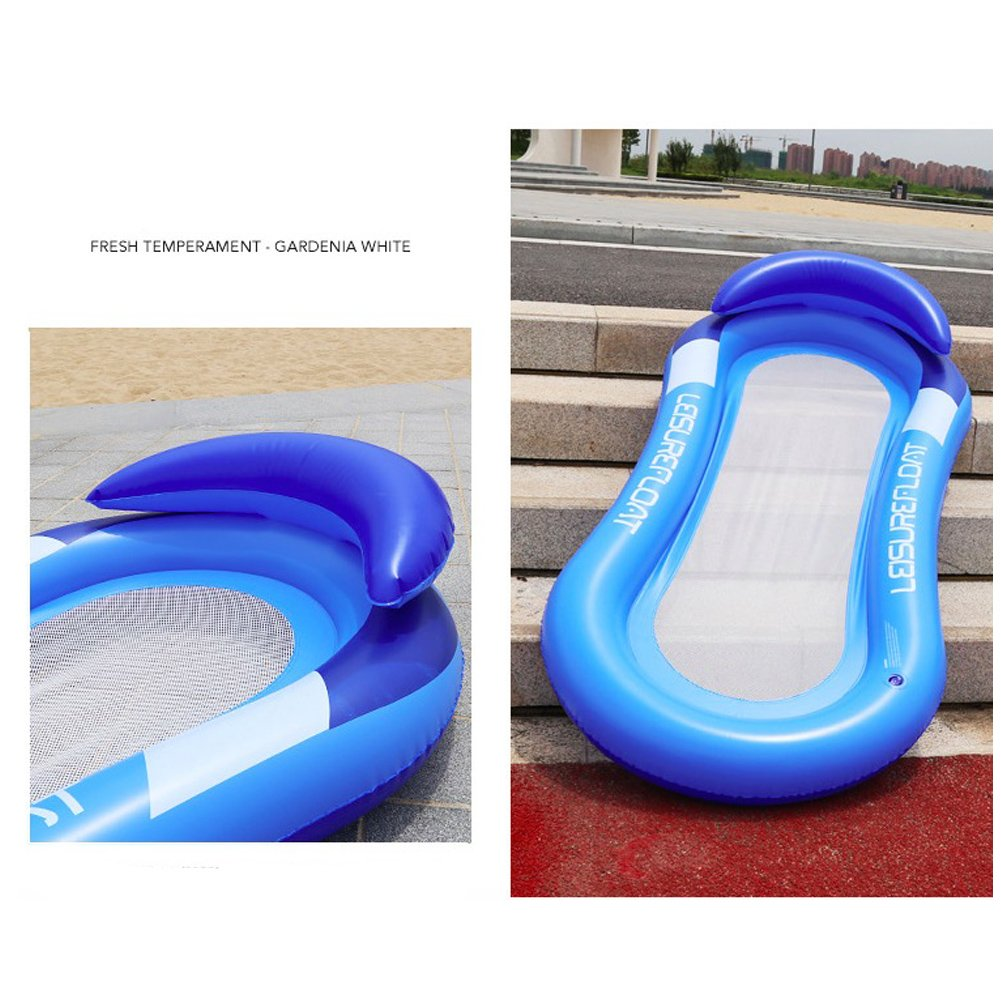 Amazon.com: Homeself Inflatable Float Hammock, Outdoor Water ...