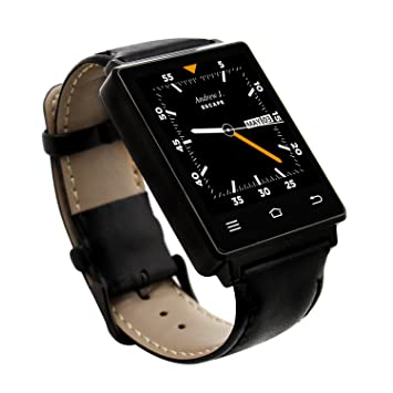Haehne Lujo D6 SmartWatch, Android 5.1, WiFi 2G/3G, GPS/AGPS ...