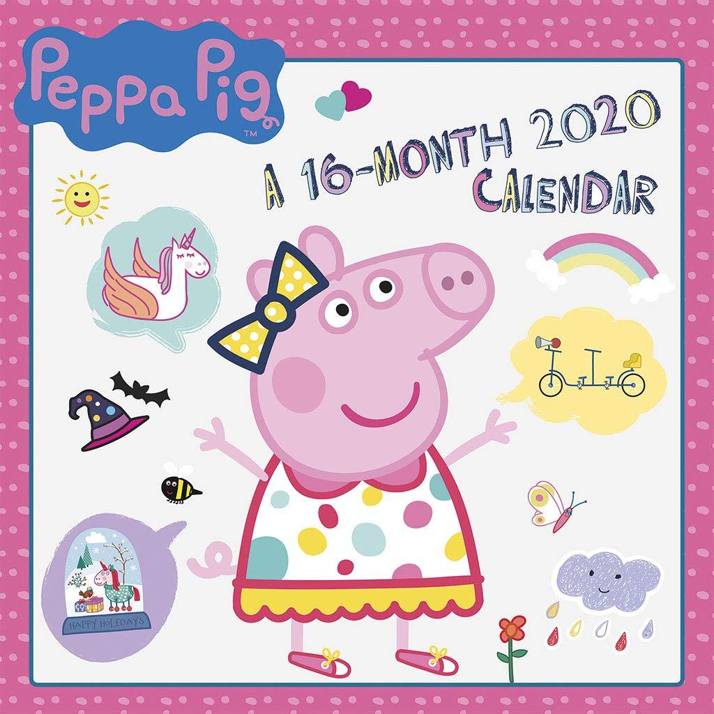 Peppa Pig 2020 Wall Calendar Trends International 9781438870564
