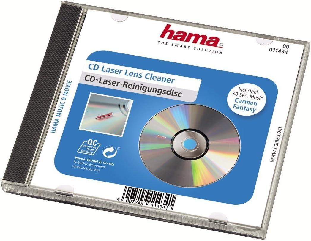 Hama Laser Reinigungs Cd Zur Schonenden Computer Zubehör