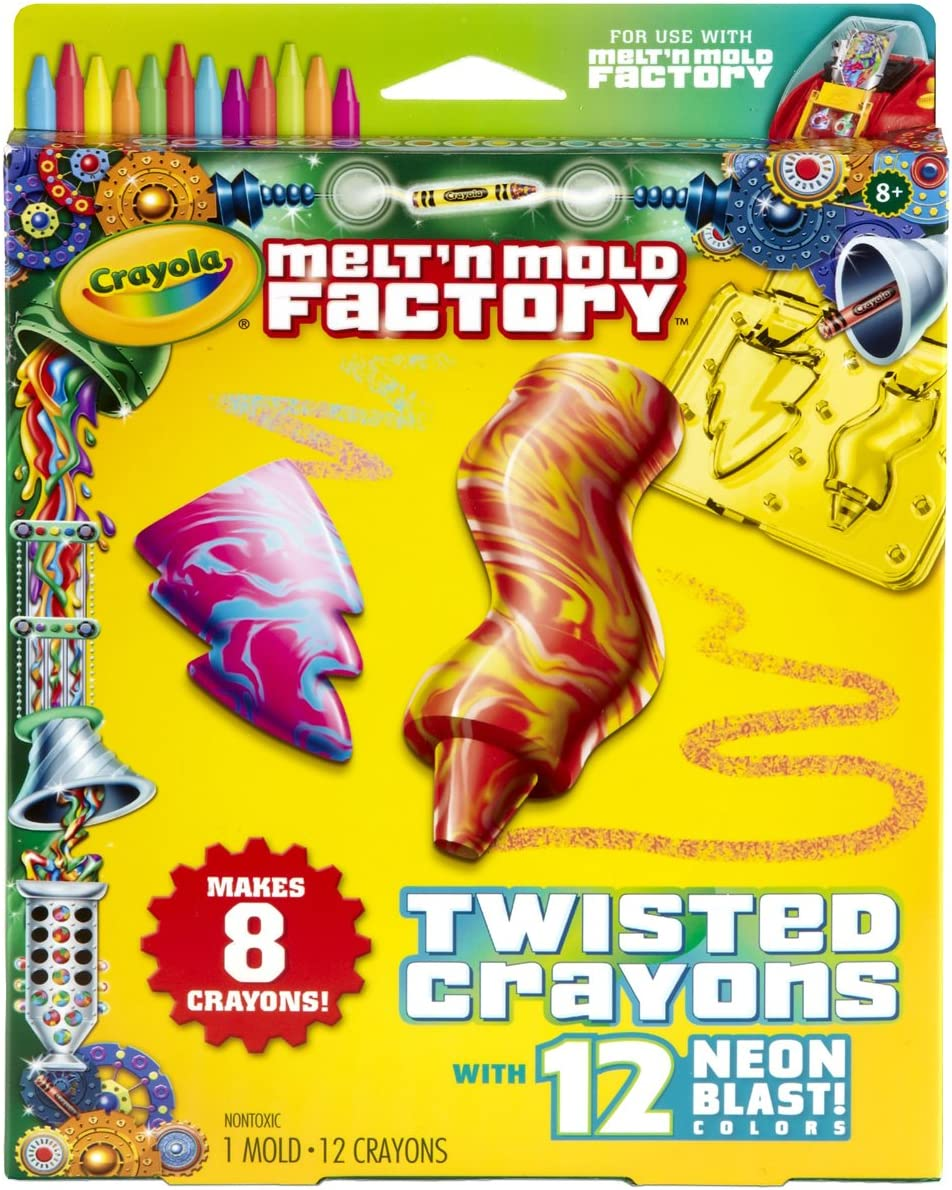 Crayola Melt N Mold Twisted Crayons Expansion Pack