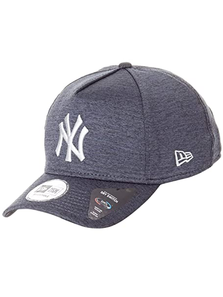New Era Era Dryswitch Jersey A Frame NY Yankees Cap - Black Grey  Amazon.it   Abbigliamento 6ef452d3a76f