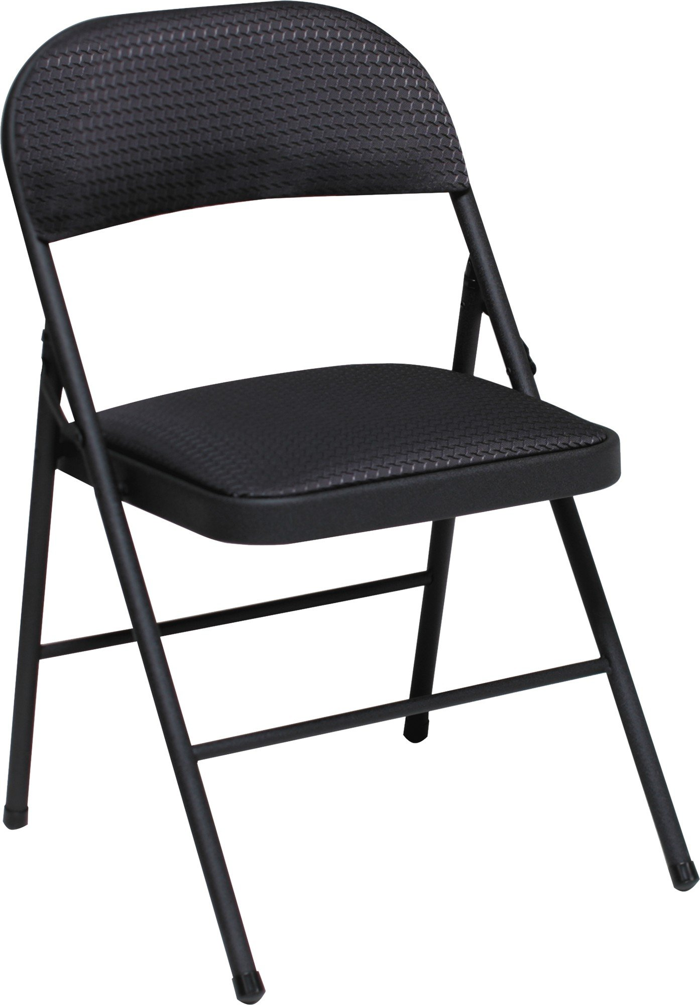 Cosco Fabric Folding Chair Black (4-pack) by Cosco