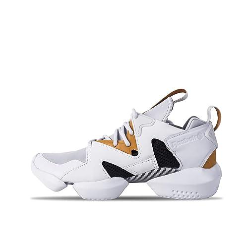 532c8926eb0 Reebok Unisex s 3D Op. Lite Spirit Wht Opus Gold Blk Running Shoes ...