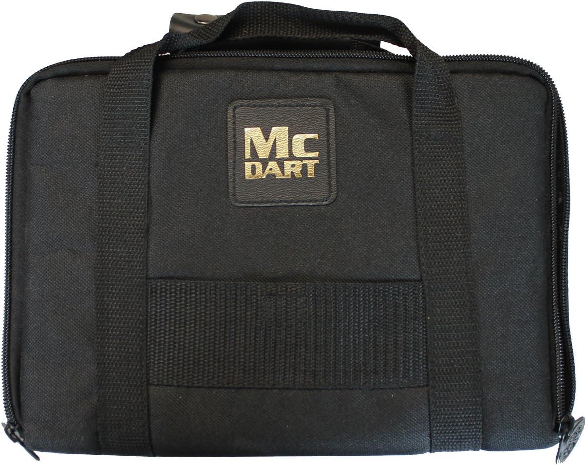 McDart Master Sac avec 9 fl/échettes Souples et Accessoires