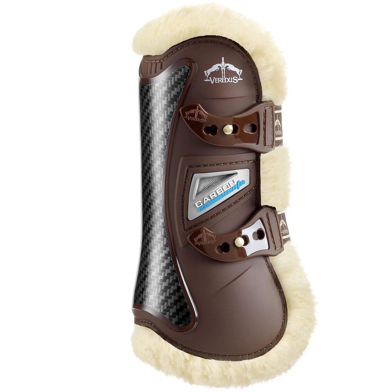 Veredus Carbon Gel Vento Save The Sheep Front Tendon Boot Medium Brown