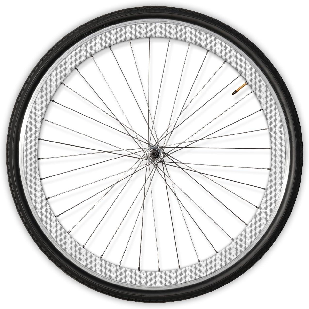 rimSkin Deep V Machined Single Wheel Rim Skin Pack for Road//Fixed Gear//Track Bike