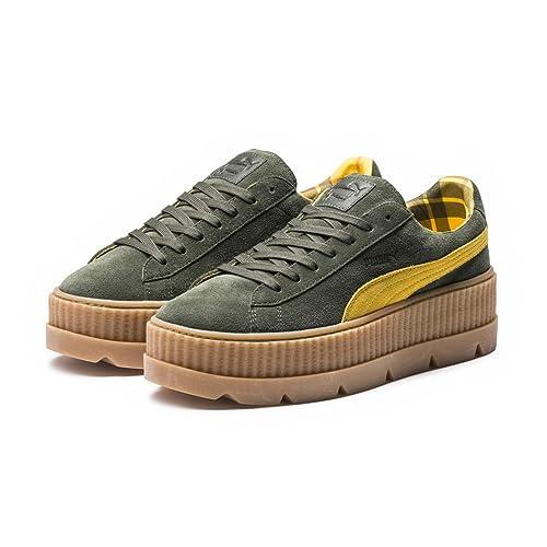Puma x Fenty Rihanna Cleated Creeper Suede, Zapatillas Deportivas de Mujer: Amazon.es: Zapatos y complementos