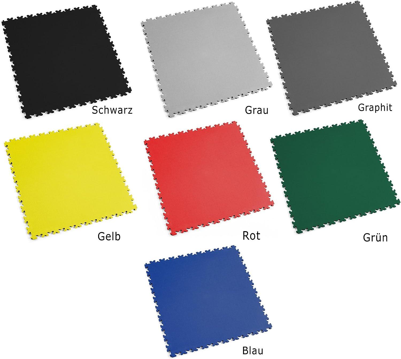Leder - Mittlere Belastbarkeit Blau Fortelock/® Vinylfliese 2060 Privat-Anwendung