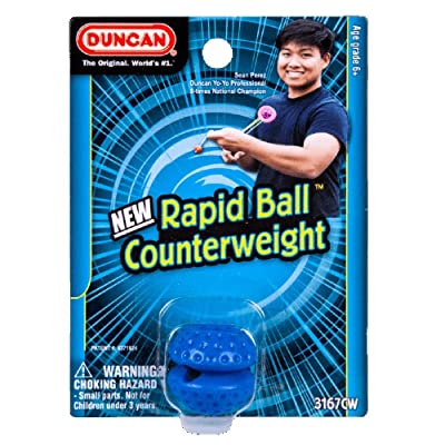 Duncan Rapid Ball Counterweight- Polycarbonate Plastic- Competition-Oriented - - (RED: Toys & Games