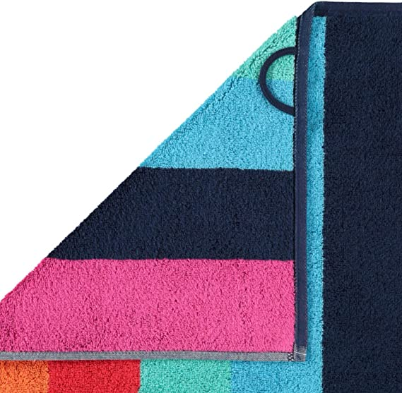 50 x 100 cm 100/% algod/ón Toalla de Mano Multicolor Caw/ö Home 147 dise/ño de Rayas