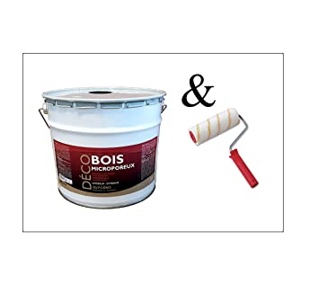 Peinture Bois Glycéro Microporeuse Intérieur Extérieur 10l Ral