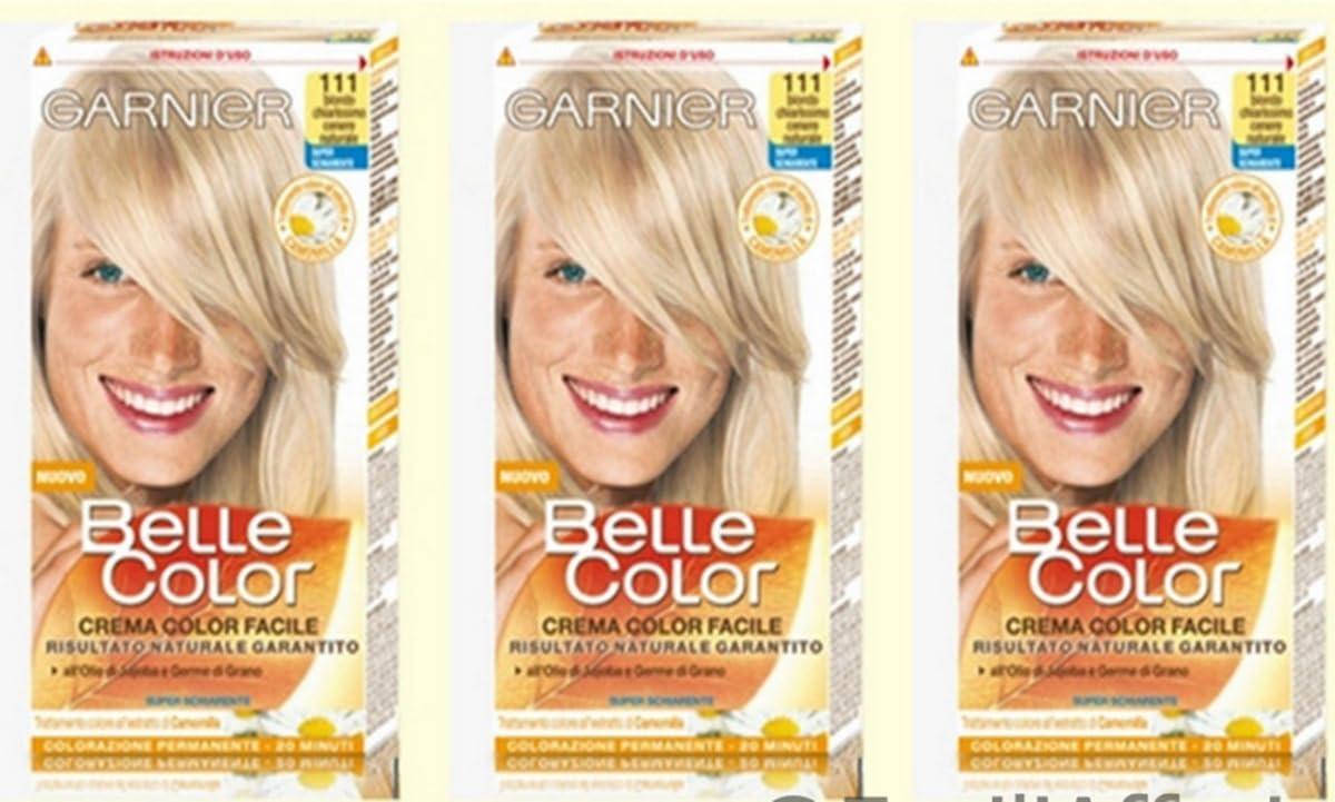 Garnier Belle Color 111 Rubio Claro Ceniza Tinte para el cabello Mujer