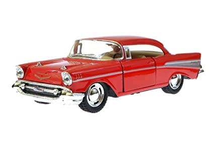 Amazon 1957 Chevy Bel Air Red Kinsmart 5313d 140 Scale