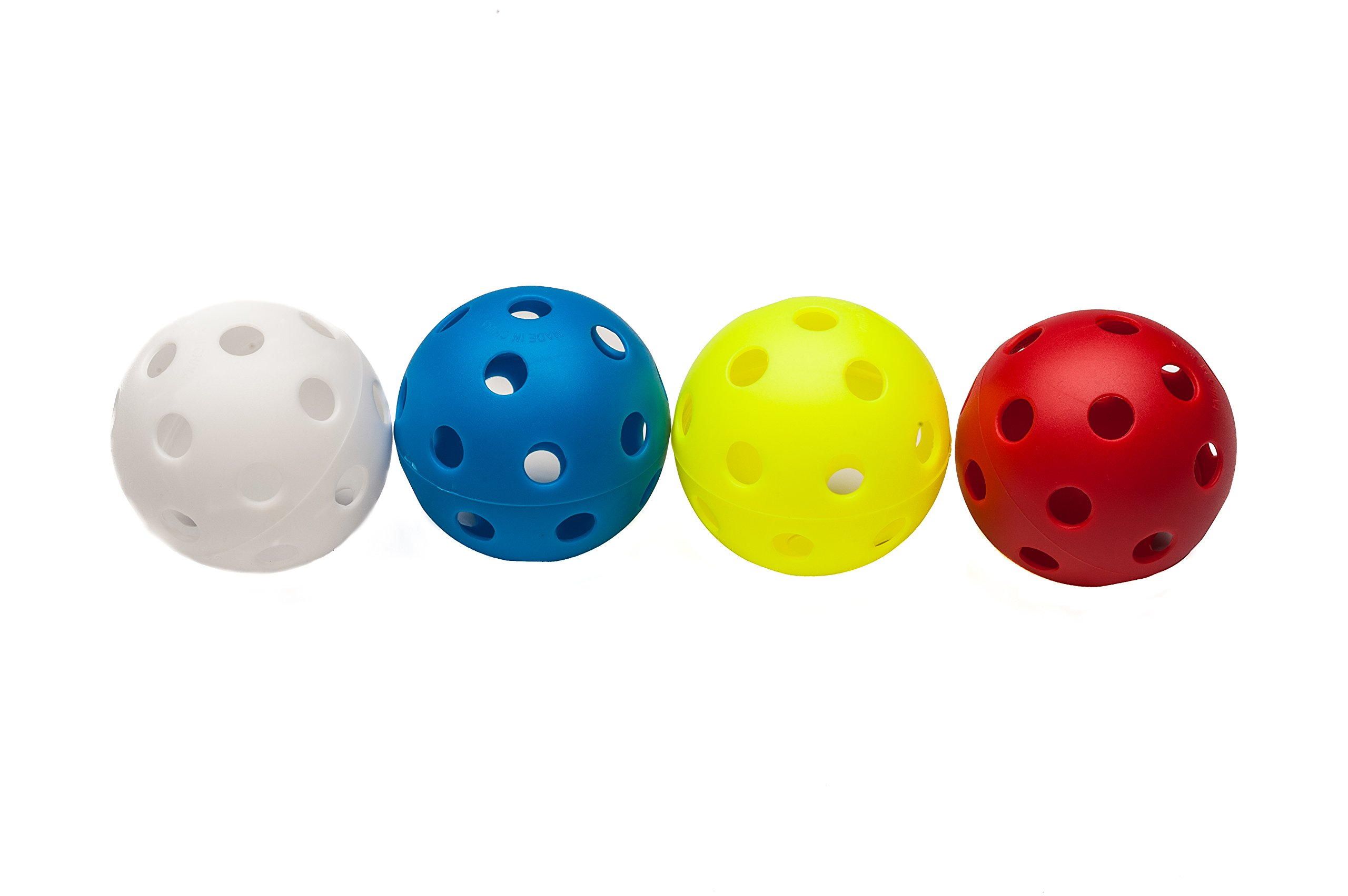 Mpowered Baseball High Bounce Practice Balls (Pack of 120), Assorted by Mpowered Baseball