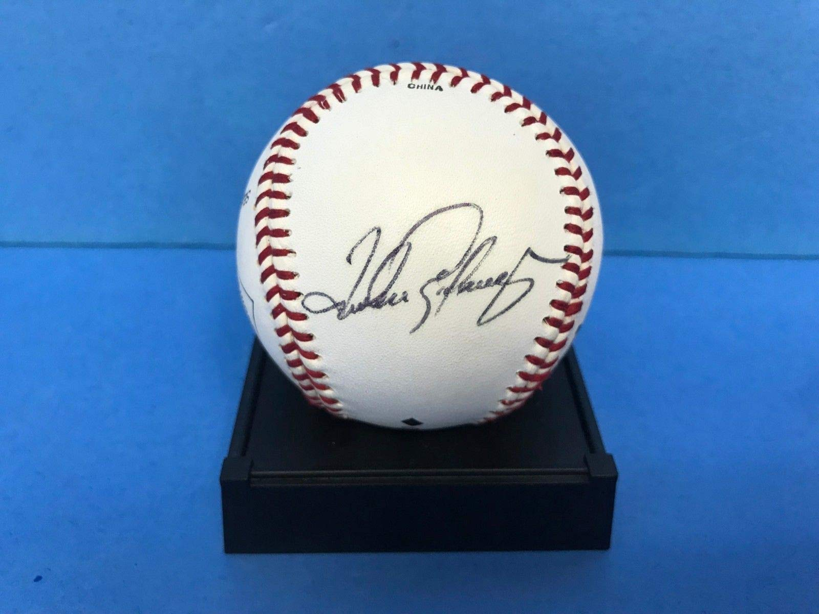 Andres Galarraga Montreal Expos Fan Favorite Signed Autograph Baseball