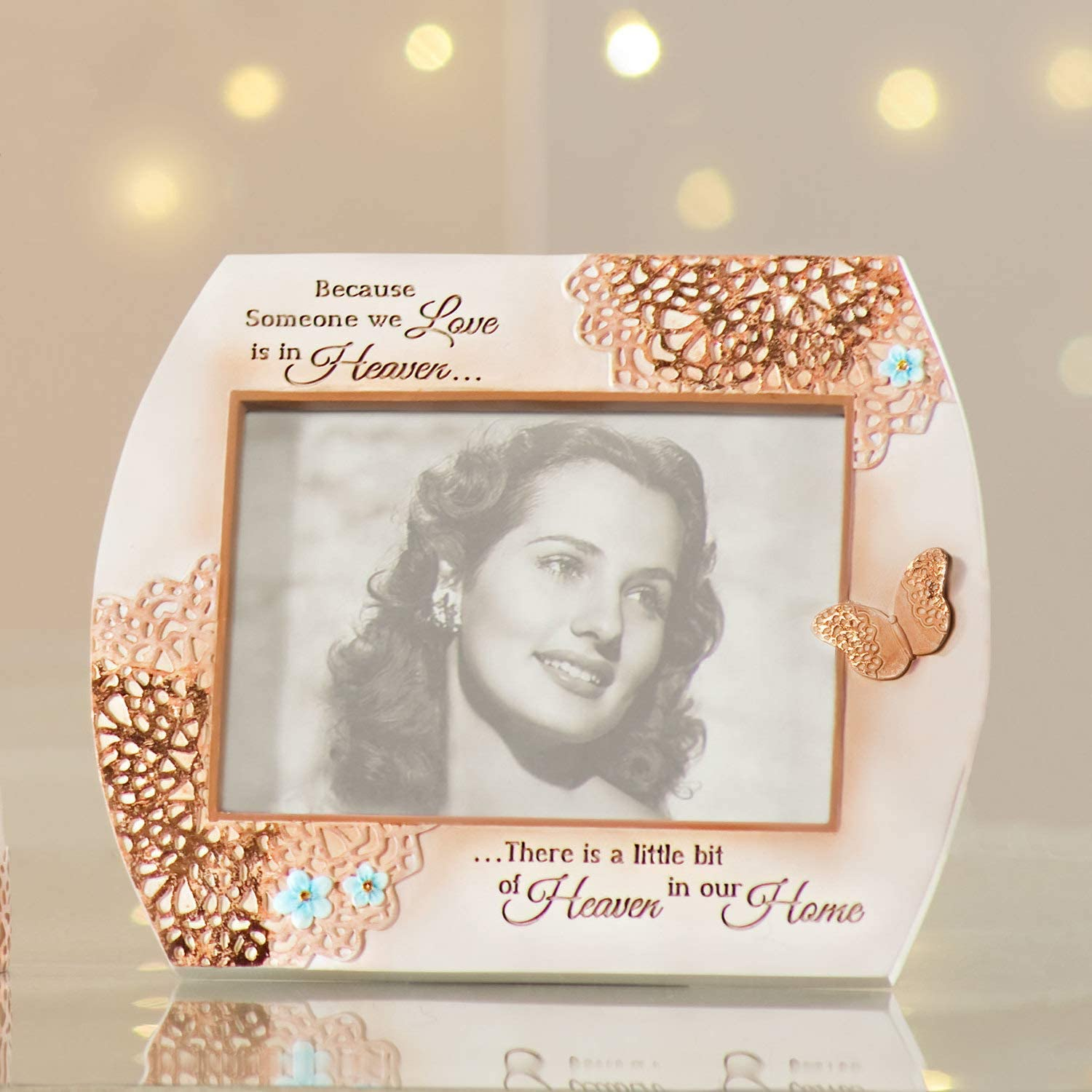 7.25x 6 Light Your Way 19050 Memorial Heaven in Our Home Photo Frame