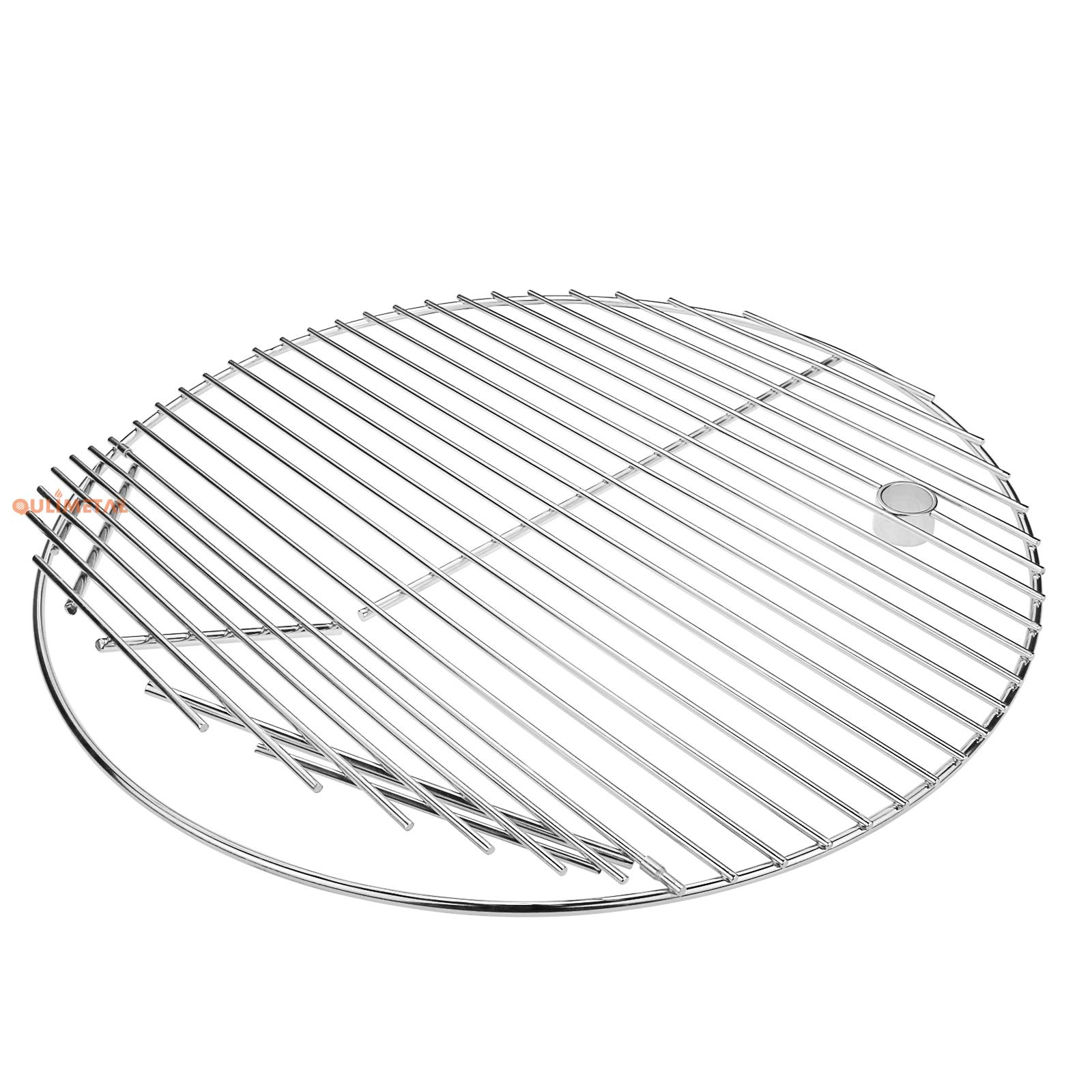 QuliMetal 19.5 Inch SUS 304 Round Cooking Grate Cooking Grid for Akorn Kamado Ceramic Grill, Pit Boss K24, Louisiana Grills K24, Char-Griller 16620 and Other Grills, for 20 Inch Charcoal Grill by QuliMetal