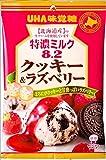 UHA味覚糖 特濃ミルク8.2 クッキー&ラズベリー 84g×6袋