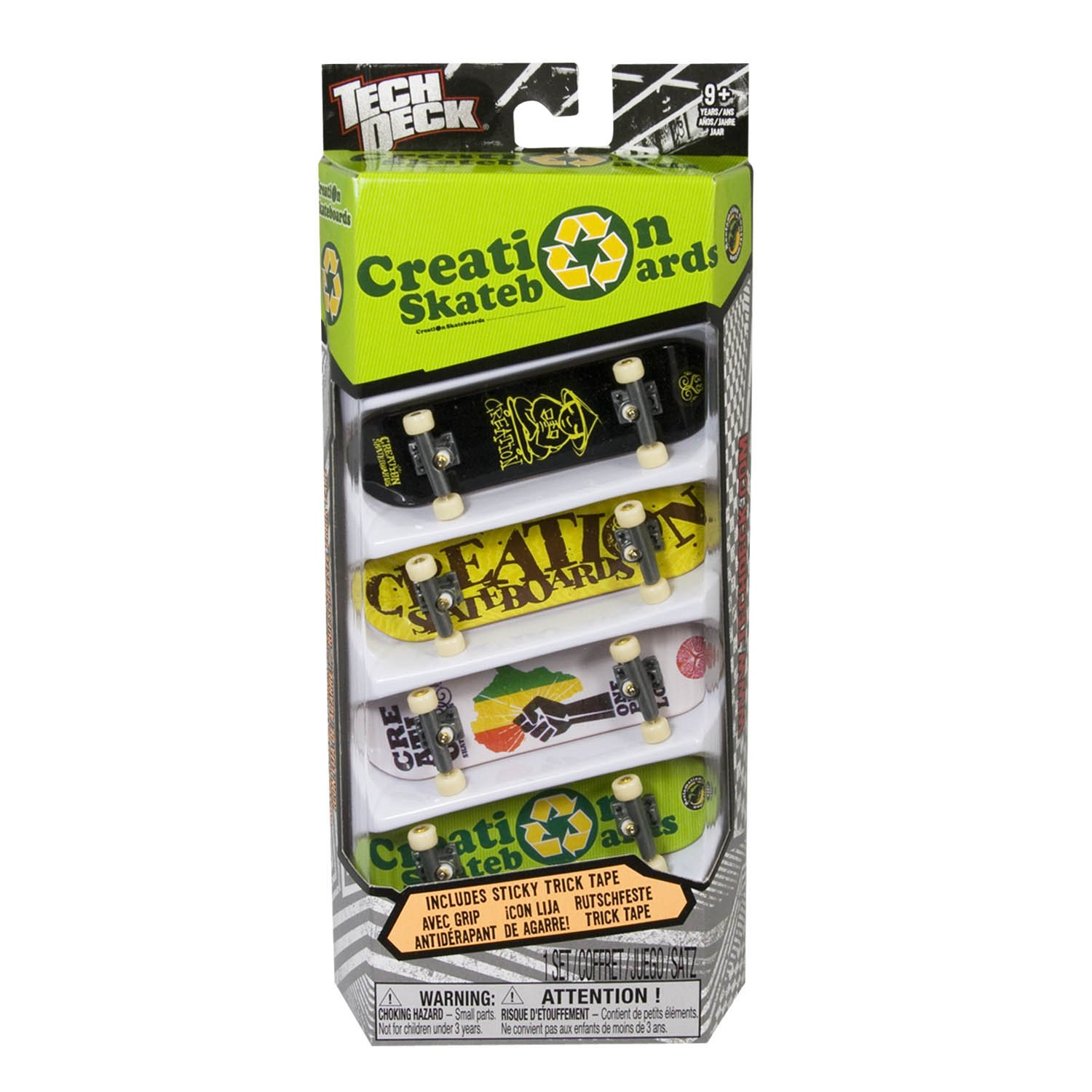 Tech Deck 96MM Fingerboards 4 Pack (Styles vary) by Spin Master (Image #6)