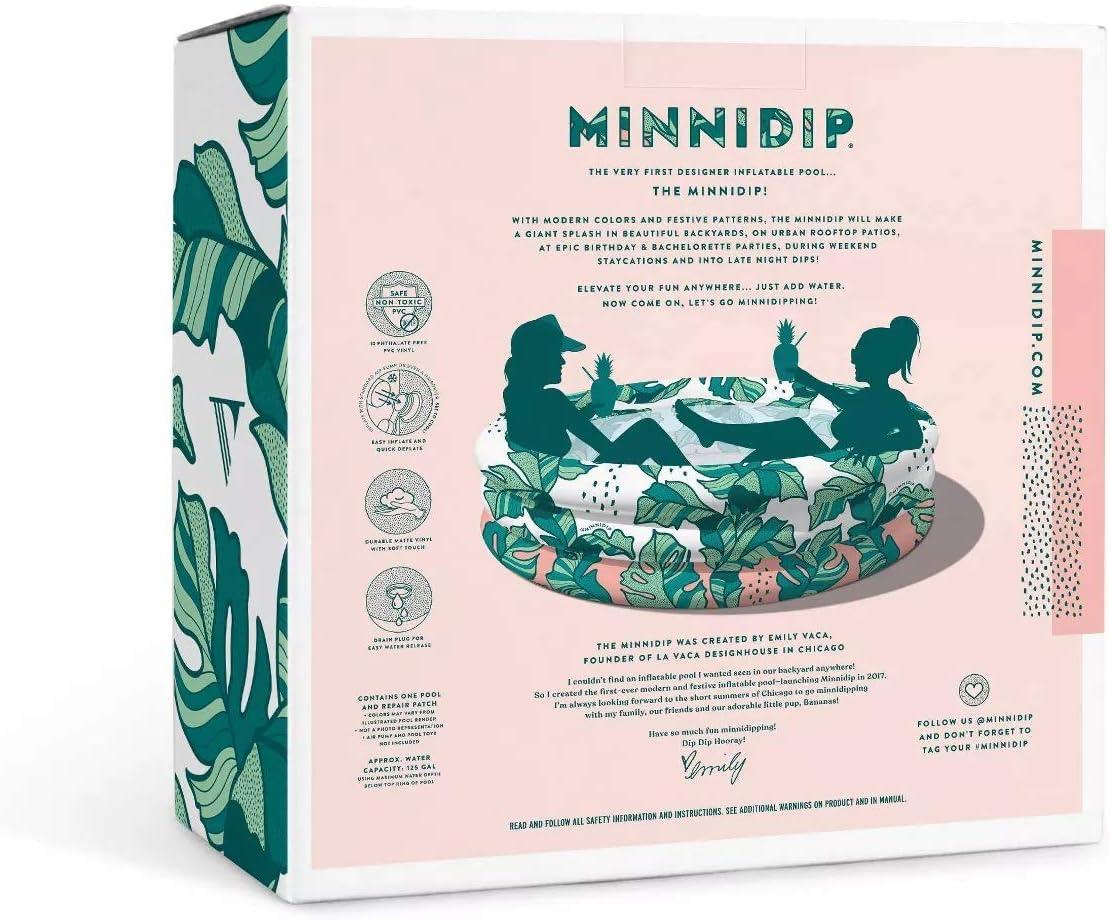 Amazon Com Minnidip Pool That S Banana Leaves Toys Games