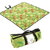 LXB Die Faltbare Picknickdecke ist wasserdicht, umweltfreundlich 3-lagig dicken Stoff, leicht zu reinigen, geeignet für Wandern und Camping.